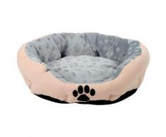 SILVIO design Tierbett Snow M, BxLxH: 46x56x19 cm, sandfarben beige Hundebetten -decken Hund Tierbedarf