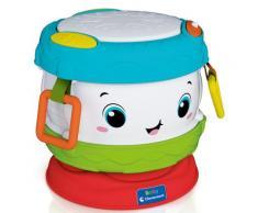 Clementoni Spielzeug-Musikinstrument Baby - Trommel, mit Licht und Sound; Made in Europe bunt Musikspielzeug Musikinstrumente