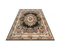 Festival Teppich Oriental 115, rechteckig, 11 mm Höhe, Orient Look, Kurzflor grün Esszimmerteppiche Teppiche nach Räumen