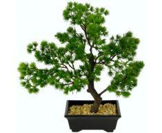 I.GE.A. Kunstbonsai Bonsai (1 Stück) grün Kunstpflanzen Kleinmöbel