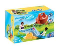 "Playmobil Konstruktions-Spielset ""Wasserwippe mit Gießkanne (70269) Playmobil 123 - Aqua"" Kunststoff, bunt, Unisex, bunt"