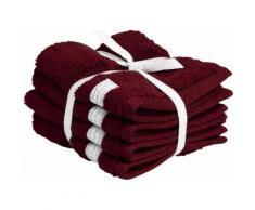 Gant Waschlappen Organic Premium rot Waschhandschuh und Handtücher Badetücher