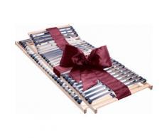 Beco Lattenrost Dura Flex LR-K, 28 Leisten, Kopfteil manuell verstellbar, 7 Zonen, 2-tlg. ideal für Doppelbetten mehrfarbig Lattenroste 90x200 cm nach Größen