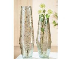 GILDE Tischvase Caspa, Kegelvase grün Green Living Aktuelle Wohntrends Vasen