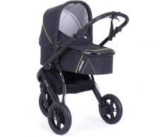 Knorrbaby Jogger-Kinderwagen HeadSport 3, darkgrey-yellow, Kinderwagen, Jogger, Dreiradwagen, Dreirad-Kinderwagen, Dreiradkinderwagen, Joggerkinderwagen grau Kinder Kinderwagen Buggies