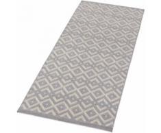 Läufer, Alley, Zala Living, rechteckig, Höhe 4 mm, maschinell gewebt grau Kurzflor-Läufer Läufer Bettumrandungen Teppiche