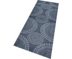 Küchenläufer, Flower Dots, Zala Living, rechteckig, Höhe 5 mm, maschinell gewebt grau Küchenläufer Läufer Bettumrandungen Teppiche