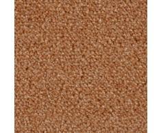 Bodenmeister Teppichboden Velours gemustert, rechteckig, 10 mm Höhe, Meterware, Breite 400 cm, uni, Wunschmaß orange Bodenbeläge Bauen Renovieren