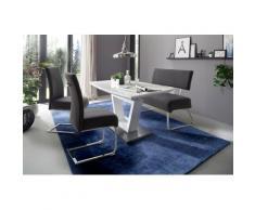 MCA furniture Polsterbank Foshan, (1 St.), Aqua Resistant Bezug, belastbar bis max. 200 kg grau Polsterbänke Sitzbänke Stühle