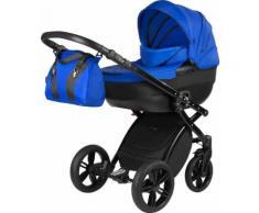 knorr-baby Kombi Kinderwagen Set, »Alive Elements, Tief«, blau, Unisex, schwarz-blau