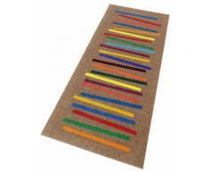 Läufer Mixed Stripes wash+dry by Kleen-Tex rechteckig Höhe 9 mm gedruckt, bunt, bunt