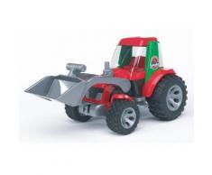 """Bruder Spielzeug-Traktor """"ROADMAX Traktor mit Frontlader"""", rot, rot"""