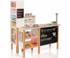 """MUSTERKIND Kaufladen """"Alnus weiß/apricot"""", weiß, Unisex, weiß-apricot"""