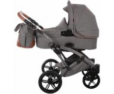 knorr-baby Kombi-Kinderwagen Set Voletto Premium grau, grau, Unisex, grau