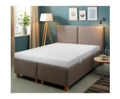 Komfortschaummatratze + Rollrost Smart M & Quick 28, Beco, (Set) Lattenroste nach Größen Matratzen und Matratzen-Lattenrost-Sets