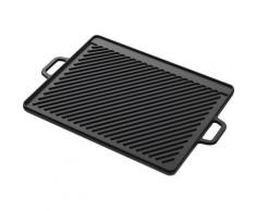 Tepro Grillplatte, Gusseisen, (1 St.), BxT: 46x30 cm schwarz Grillplatte Herde Kochfelder SOFORT LIEFERBARE Haushaltsgeräte