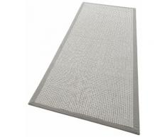 Läufer, Issa, my home, rechteckig, Höhe 7 mm, maschinell gewebt silberfarben Kurzflor-Läufer Läufer Bettumrandungen Teppiche