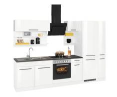 HELD MÖBEL Küchenzeile Tulsa weiß Küchenzeilen ohne Geräte -blöcke Küchenmöbel Arbeitsmöbel-Sets