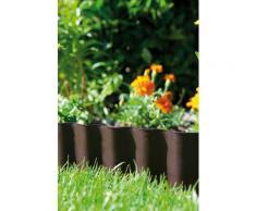 GARDENA Beetbegrenzung braun Rasen- Gartendekoration Gartenmöbel Gartendeko