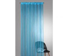 Weckbrodt Fadenvorhang Rebecca blau Wohnzimmergardinen Gardinen nach Räumen Vorhänge