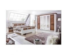 Premium collection by Home affaire Kleiderschrank Laguna mit Lamellentüren in unterschiedlichen Breiten