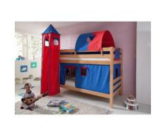 Relita Etagenbett, Set 4-tlg. rot Kinder Kinderbetten Kindermöbel Etagenbett