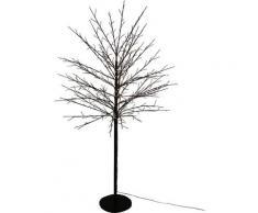 AM Design LED Baum, Warmweiß, mit 580 warmweißen LEDs schwarz Baum