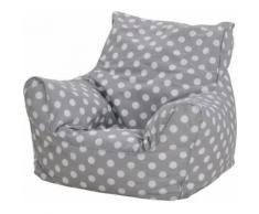 knorr toys Kindersitzsack Dots grey, Neutral