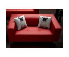 COLLECTION AB 3-Sitzer rot Sofas Einzelsofas Couches