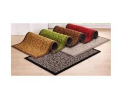 Fußmatte, rechteckig, 1 mm Höhe rot Fußmatten SOFORT LIEFEERBAR Diele Flur Fußmatte