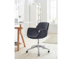 andas Drehstuhl Chiara, mit Gasdruckfeder und Rollen grau Drehstühle Bürostühle Büromöbel