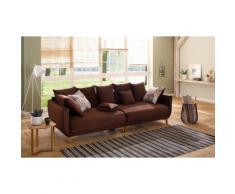 Home affaire Big-Sofa Tilda braun Big Sofas XXL Couches