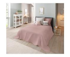 Home affaire Tagesdecke Melli, auch als Tischdecke und Sofaüberwurf einsetzbar rosa Baumwolldecken Decken