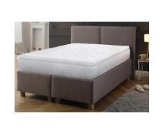 Topper Micro Gel Soft, Beco, 8 cm hoch, Raumgewicht: 40 weiß Matratzen