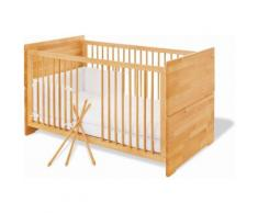 Pinolino Babybett Natura, Made in Europe beige Baby Gitterbetten Babybetten Babymöbel
