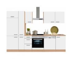 OPTIFIT Küchenzeile Odense, weiß, weiß