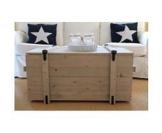Uncle Joe´s Truhentisch grau Holz-Couchtische Holztische Tische Tisch
