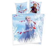Disney Kinderbettwäsche Disney´s Eiskönigin 2, mit Elsa, Anna und Olaf blau Bettwäsche-Sets Bettwäsche, Bettlaken Betttücher