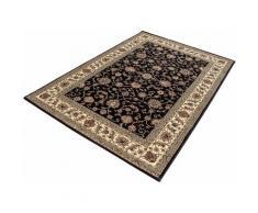 Ayyildiz Teppich Marrakesh 210, rechteckig, 12 mm Höhe, Kurzflor, Orient-Optik, Wohnzimmer schwarz Esszimmerteppiche Teppiche nach Räumen