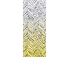 Komar Fototapete Herringbone in zwei Größen, gelb, gelb