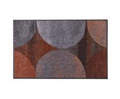 Fußmatte GALAXIA waschbar grau Fußmatten gemustert