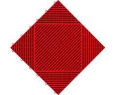 florco Terrassenplatten classic, Klickfliesen rot Terrassenfliesen Terrassenböden Garten Balkon