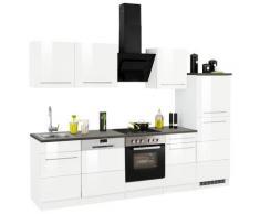 HELD MÖBEL Küchenzeile Trient, ohne E-Geräte, Breite 280 cm weiß Küchenzeilen Geräte -blöcke Küchenmöbel Arbeitsmöbel-Sets