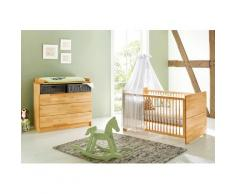 Pinolino Babymöbel-Set Natura (Spar-Set, 2-tlg) beige Baby Baby-Möbel-Sets Babymöbel Schlafzimmermöbel-Sets
