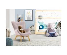 Lüttenhütt Sessel Duca Mini, in kleiner Ausführung für Kinder rosa Ohrensessel und Hocker Sofas Couches