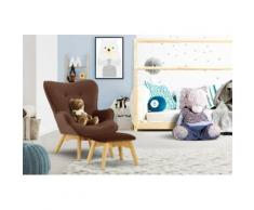 Lüttenhütt Sessel Duca Mini, in kleiner Ausführung für Kinder braun Ohrensessel und Hocker Sofas Couches