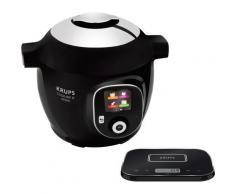 Krups Multikocher Cook4Me+, Grameez CZ8568 mit vernetzter Waage, 1600 Watt, Schüssel 6 Liter schwarz Küchenkleingeräte Haushaltsgeräte Küchenmaschine Kochfunktion