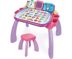 Vtech Spieltisch 3 in 1 Magischer Schreibtisch, pink, mit LED-Display rosa Kinder Ab 3-5 Jahren Altersempfehlung