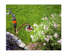 GARDENA Bewässerungssystem Garden Pipeline, 08255-20, Starter Set mit 2 Wasserentnahmestellen grau Bewässerungssysteme Bewässerung Garten Balkon