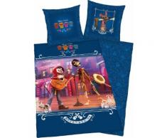 Kinderbettwäsche Disney's Coco Walt Disney, blau, blau